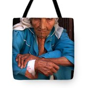 Portrait Of A Berber Woman Tote Bag by Ralph A  Ledergerber-Photography