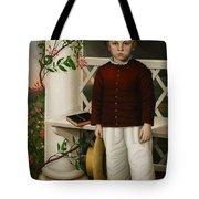 Portrait of a Boy Tote Bag by James B Read