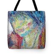 Portrait Of A Boy - Marcus Tote Bag by Fabrizio Cassetta