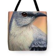 Portrait of a Mockingbird Tote Bag by James W Johnson