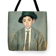Portrait Of Charles Dikran Kelekian Tote Bag by Mary Stevenson Cassatt