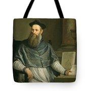 Portrait Of Daniele Barbaro Tote Bag by Paolo Caliari Veronese