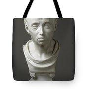 Portrait Of Emmanuel Kant  Tote Bag by Friedrich Hagemann