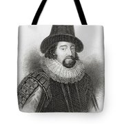 Portrait Of Francis Bacon Tote Bag by English School