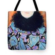 Portrait Of Johanna Staude Tote Bag by Gustav Klimt
