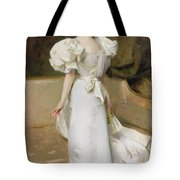 Portrait Of The Countess Of Clary Aldringen Tote Bag by John Singer Sargent