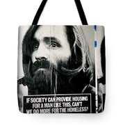 Poster Boy Charlie Tote Bag by Ed Weidman