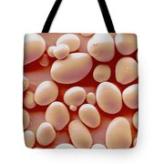 Potato Starch Granules Sem Tote Bag by Scimat