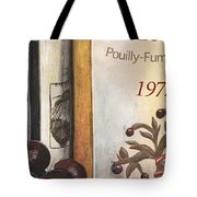 Pouilly Fume 1975 Tote Bag by Debbie DeWitt