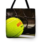 Practice - Tennis Ball By William Patrick and Sharon Cummings Tote Bag by Sharon Cummings