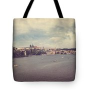 Prague Days II Tote Bag by Taylan Soyturk