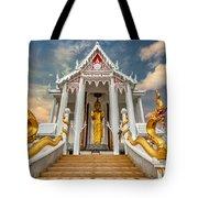 Pranburi Temple Tote Bag by Adrian Evans