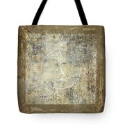 Prayer Flag 203 Tote Bag by Carol Leigh