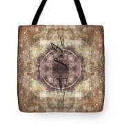 Prayer Flag 34 Tote Bag by Carol Leigh