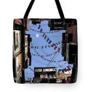 Prayer Flags Tote Bag by Cynthia Decker