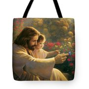 Precious In His Sight Tote Bag by Greg Olsen