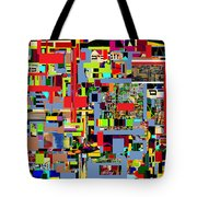 precious is man for he is created in the Divine Image 4 Tote Bag by David Baruch Wolk