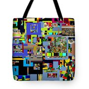 precious is man for he is created in the Divine Image 5 Tote Bag by David Baruch Wolk