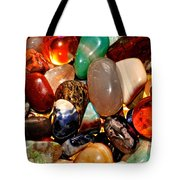 Precious Stones Tote Bag by Frozen in Time Fine Art Photography