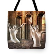 Precisely Aware Tote Bag by Betsy C Knapp