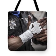 Prepping For The Ride Tote Bag by Amber Kresge