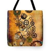 Present Tote Bag by Fran Riley