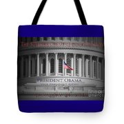 President Obama Inauguration Tote Bag by Jost Houk