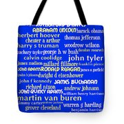 Presidents of The United States 20130625 Tote Bag by Wingsdomain Art and Photography