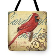 Pretty Bird 1 Tote Bag by Debbie DeWitt