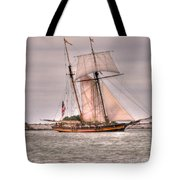 Pride Of Baltimore Tote Bag by Kathleen Struckle