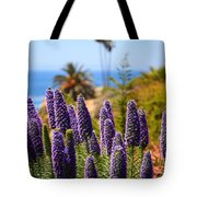 Pride Of Madeira Flowers In Orange County California Tote Bag by Paul Velgos