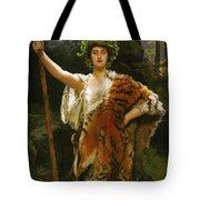 Priestess Bacchus Tote Bag by John Collier