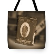 Prince Albert In A Can Tote Bag by Mike McGlothlen