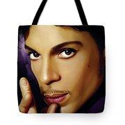 Prince Artwork Tote Bag by Sheraz A