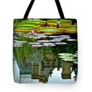 Prince Charmings Lily Pond Tote Bag by Frozen in Time Fine Art Photography