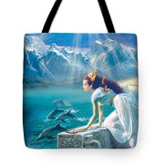 Princess Tote Bag by Andrew Farley