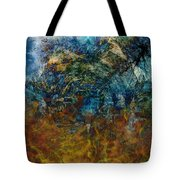 Prophecy Tote Bag by Christopher Gaston