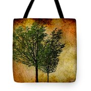 Protected Together Tote Bag by Cheryl Young