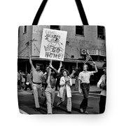 Protesting Iran Tote Bag by Benjamin Yeager