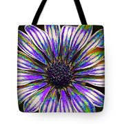 Psychedelic Daisy Tote Bag by Bill Caldwell -        ABeautifulSky Photography
