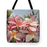 Pua Melia Ke Aloha Maui Tote Bag by Sharon Mau