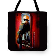 Pump Up The Vintage Tote Bag by Karen Wiles