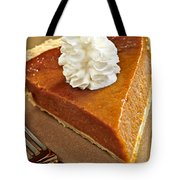 Pumpkin Pie Tote Bag by Elena Elisseeva