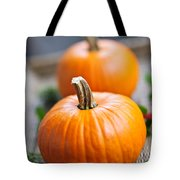 Pumpkins Tote Bag by Elena Elisseeva