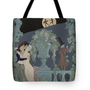 Puppets Tote Bag by Georges Barbier