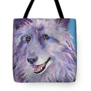 Puppy Dog Tote Bag by Pat Saunders-White
