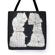 Puppy Love Tote Bag by Christi Kraft