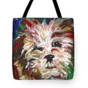 Puppy Spirit 101 Tote Bag by Linda Mears