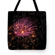 Purple Orbit Tote Bag by Aimee L Maher Photography and Art