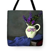 Purple Pardon Tote Bag by Diana Angstadt